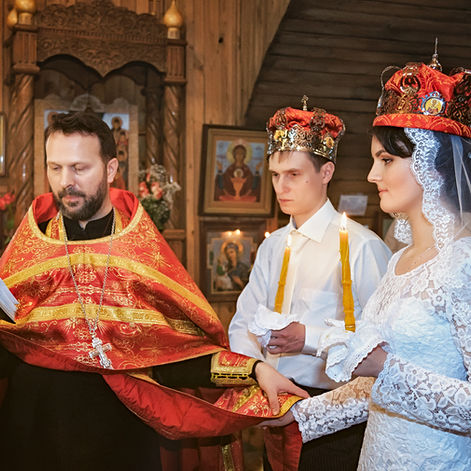Венчание Александра и Дарьи