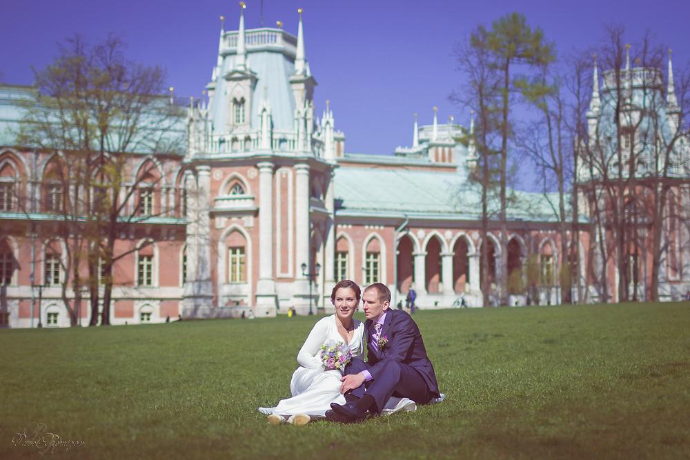 Свадебная фотосессия, Москва, Царицыно, Павел Ремизов