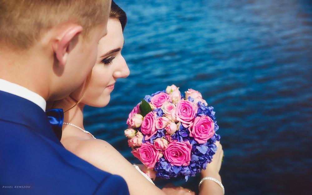 Свадебная фотосессия, прогулка на теплоходе, Гавань Надежды, фотограф  Павел Ремизов