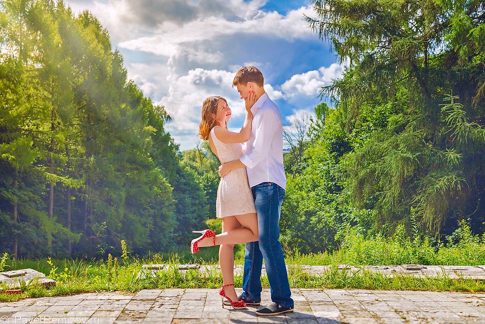 фотограф Павел Ремизов, Жуковский, Love Story, Воронцовская усадьба в Быково