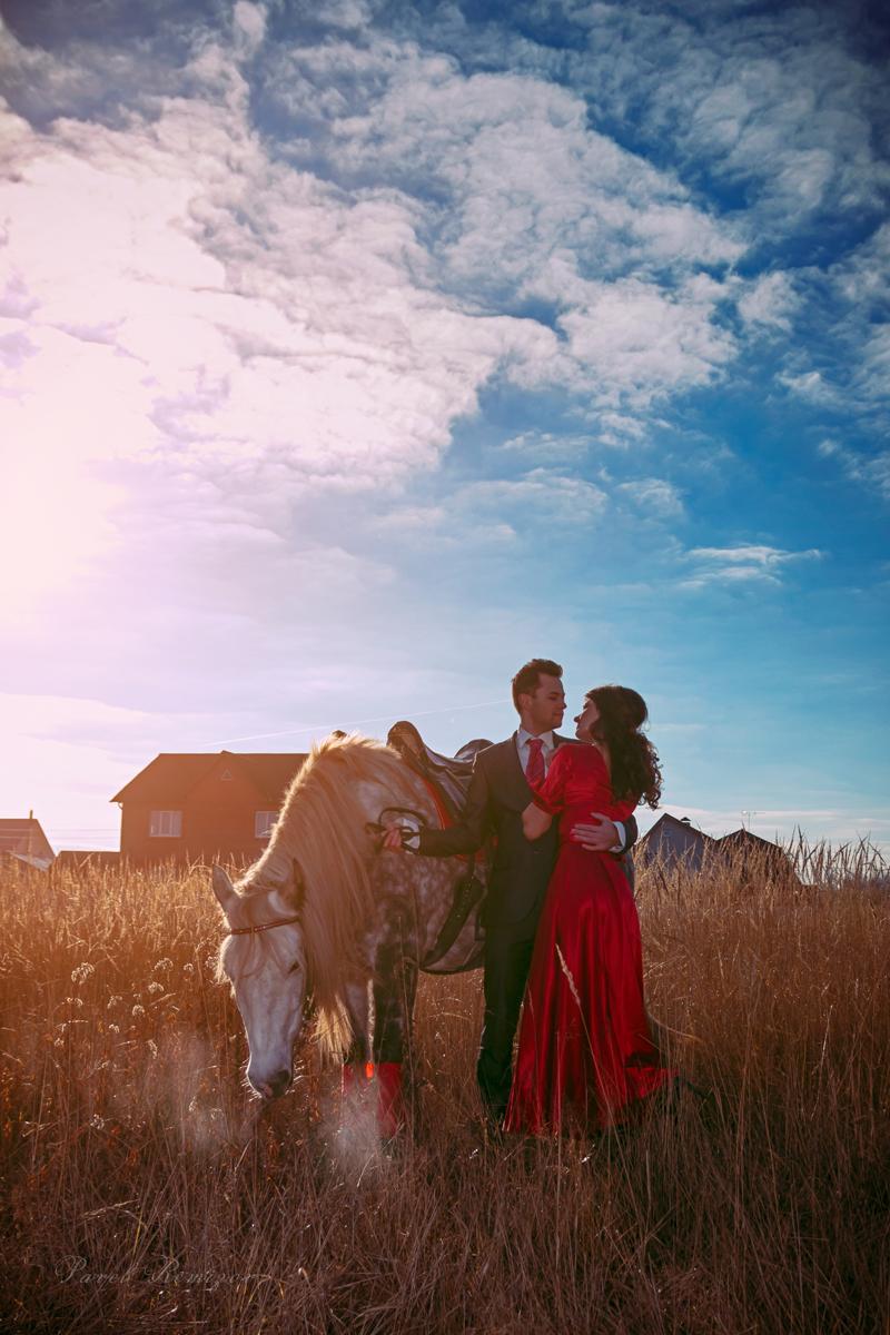 фотограф Павел Ремизов, Раменское, Love Story, конная прогулка