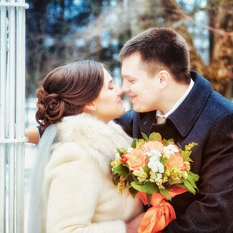 Свадебная фотография, Федор и Нина