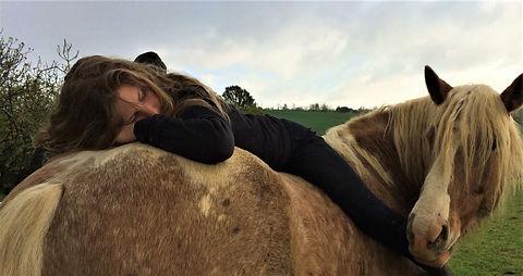 Les chevaux du sourire Morgane et Baltha