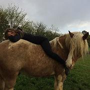 Balthazar et Morgane Maignan Les chevaux