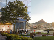 HARBOUR ARCH ON CAPE TOWN'S FORESHORE UNDER WAY
