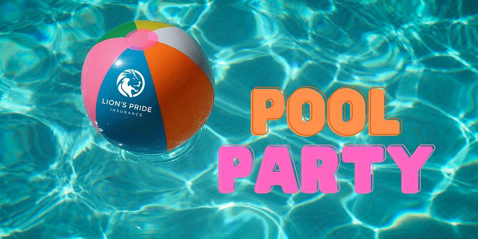 Lion's Pride Insurance Customer Appreciation Pool Party!
