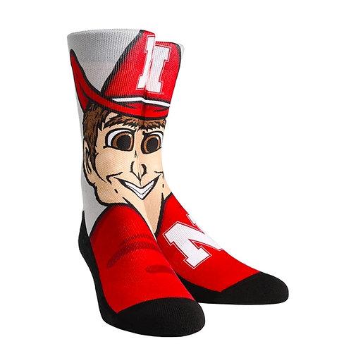 Herbie Husker Socks