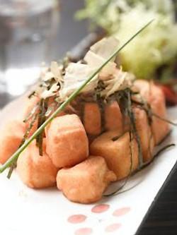 日式椒鹽炸豆腐