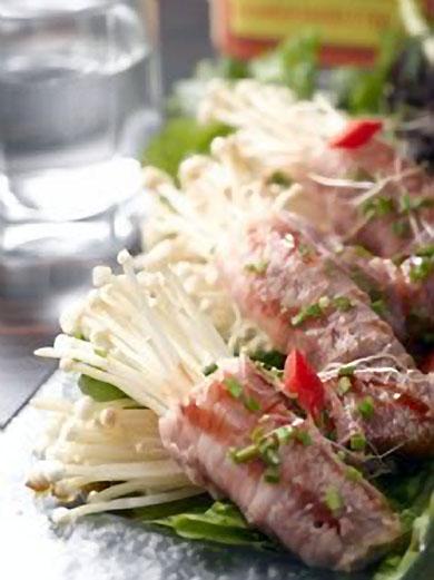 紅燒金菇肥牛卷