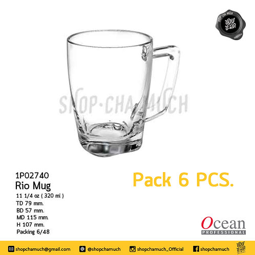 แก้ว RIO MUG 11 1⁄4 oz (320 ml) (Pack 6) Ocean 1P02740