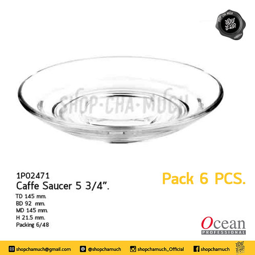 """จานรองแก้ว Caffe Saucer 5 3/4"""" Ocean 1P02471"""