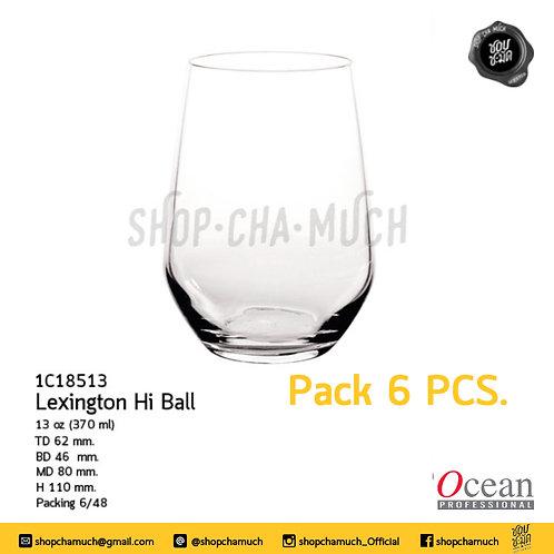 แก้ว LEXINGTON HI BALL 13 oz. (370 ml) Pack 6 Ocean 1C18513