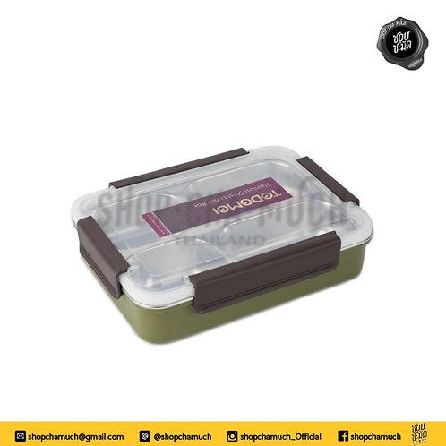 กล่องอาหาร 6545 เขียว Homio