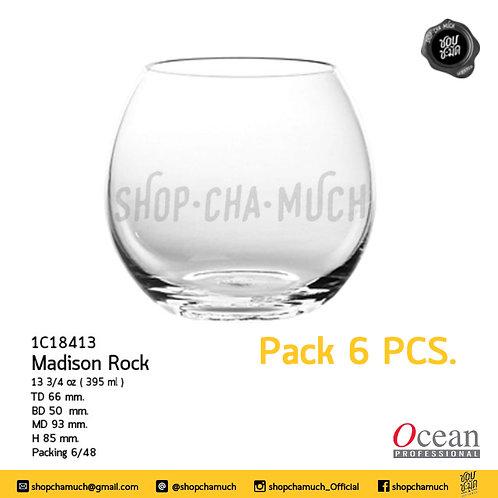 แก้ว MADISON ROCK 133⁄4oz. (395 ml) Pack 6 Ocean 1C18413