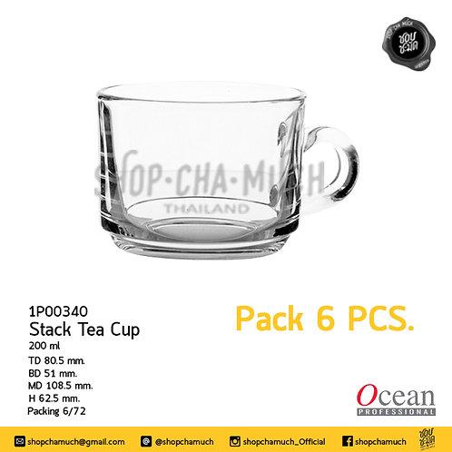 แก้ว STACK TEA SAUCER 7 oz (200 ml) Ocean 1P00340