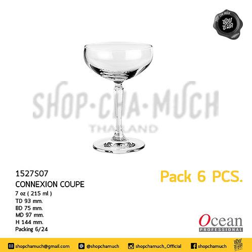 แก้ว CONNEXION COUPE 7 oz. (215 ml) Pack 6 Ocean 1527S07