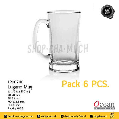 แก้วเบียร์ Lugano Beer Mug 11 1/2 oz. (330 ml.) Ocean 1P00740