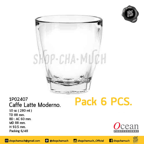 แก้ว Caffe Latte moderno 10 oz (280 ml) Ocean 1P02407