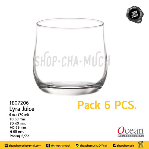 แก้ว LYRA 6 oz. (170 ml) Pack 6 Ocean 1B07206