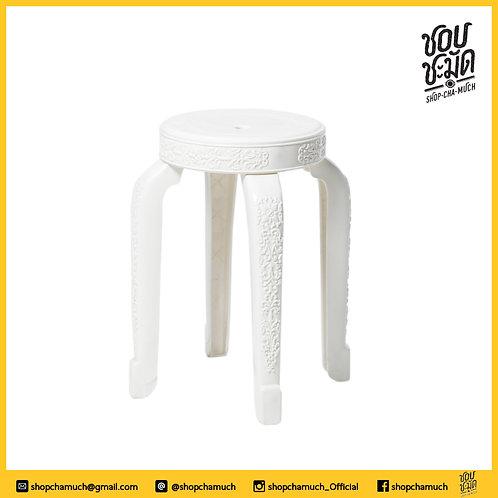 เก้าอี Oriental DIY สีขาว SCM001
