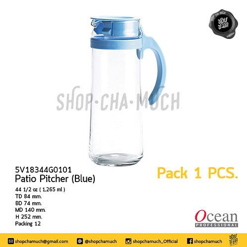 เหยือกน้ำ PATIO PITCHER 44 1⁄2 oz. (1.265 ml) Pack 6 Ocean