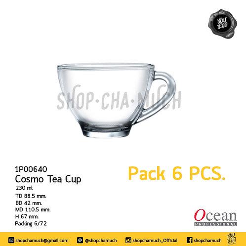 แก้ว COSMO TEA CUP 8 oz. (230 ml.) Ocean 1P00640