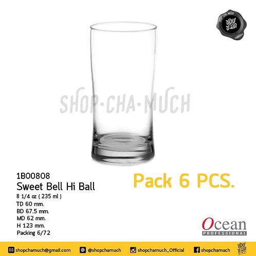 Sweet Bell Hi Ball  8 1/4 oz. (235 ml.) Ocean 1B00808