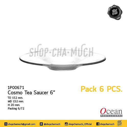 จาน COSMO TEA SAUCER 6  Ocean 1P00671
