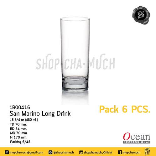 San Mario Long Drink 16 3/4 oz. (480 ml.) Ocean 1B00416