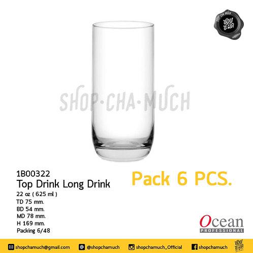 Top Drink Long Drink  22 oz ( 625 ml. ) Ocean 1B00322