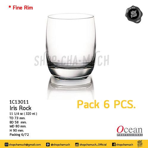 แก้ว IRIS ROCK111⁄4oz. 320 ml. Pack 6 Ocean 1C13011