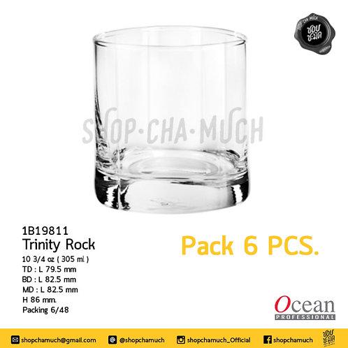 แก้ว TRINITY ROCK 103⁄4oz. (305 ml) Pack 6 Ocean 1B19811