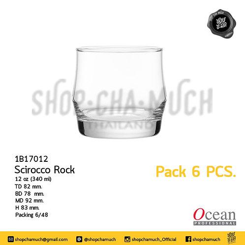 แก้ว SCIROCCO ROCK 12 oz. Pack 6 Ocean 1B17012