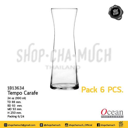 เหยือก TEMPO CARAFE 34 oz. (970 ml) Pack 6 Ocean 1B13634