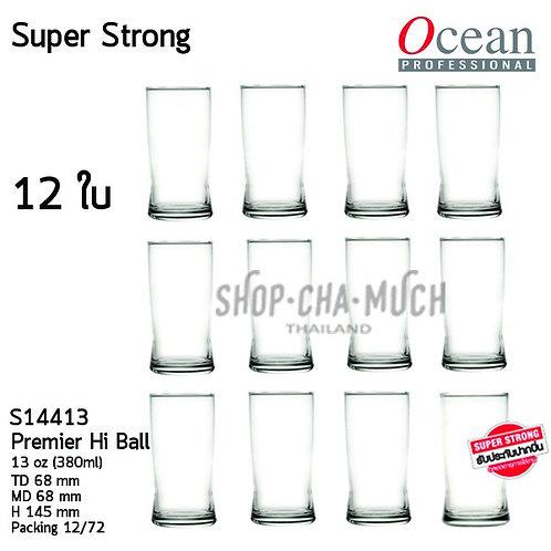 แก้ว Super Strong 13oz. Pack12 รับประกันปากไม่บิ่น Ocean