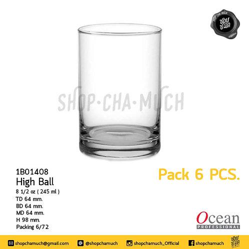 High Ball8 1/2oz. (245 ml.) Ocean 1B01408