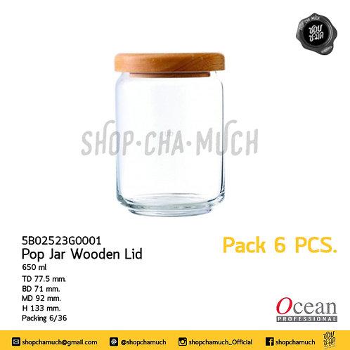 ขวดโหล POP JAR WOODEN LIDPack 6 Ocean 6B02523G0001