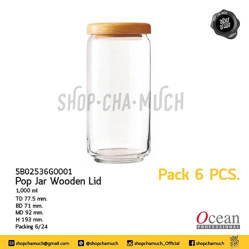 POP JAR GLASS LID 1000 ml Ocean 6B02536G0000