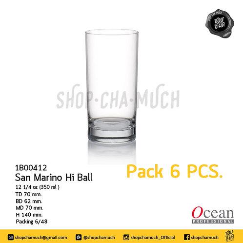 San Mario Hi Ball 12 1/4 oz. (350 ml.) Ocean 1B00412