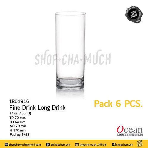Fine Drink Long Drink 17 oz. (485 ml.) Ocean 1B01916