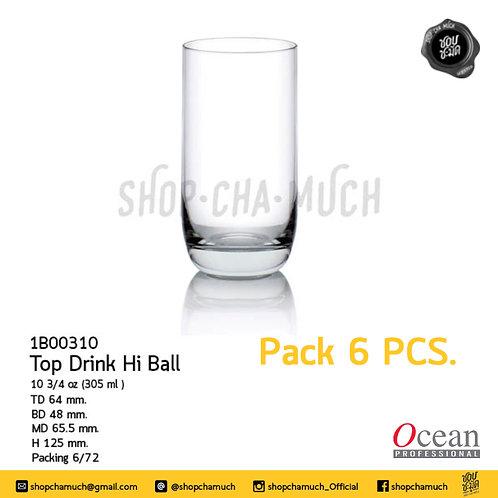 Top Drink Hi Ball 10 3/4 oz. (305 ml.) Ocean 1B00310