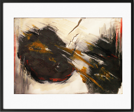 A painting for sale: