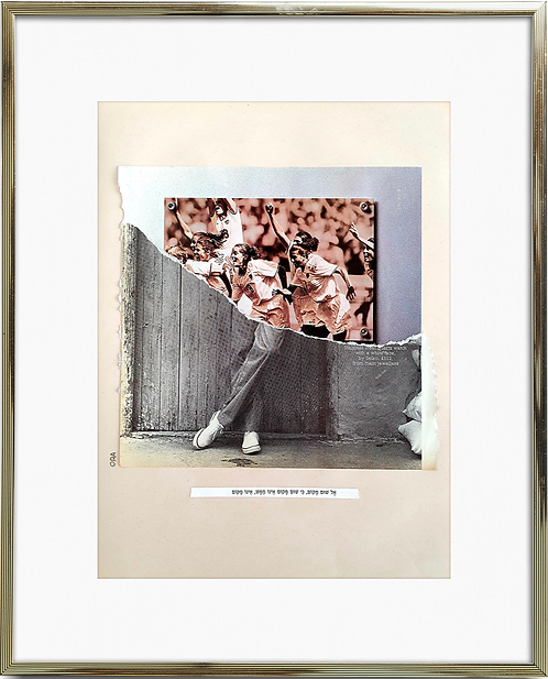 A collage for sale