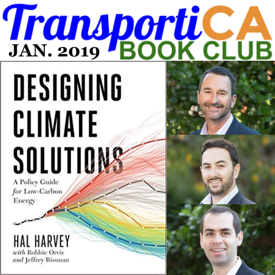 """Designing Climate Solutions"" is January's TransportiCA Book Club Selection"