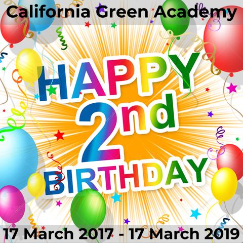 CalGreen Celebrates its Second Birthday!