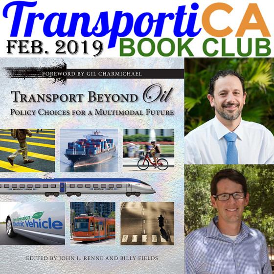 """""""Transport Beyond Oil"""" is February's TransportiCA Book Club Selection"""