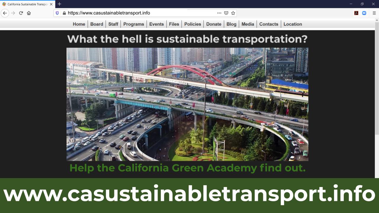 Codifying Sustainable Transport