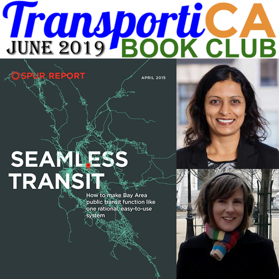"""Seamless Transit"" is TransportiCA's June 2019 Book Club Selection"