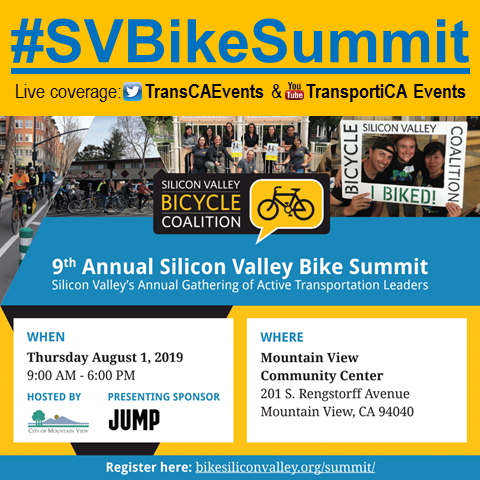 TransportiCA Reporting from the 9th Annual Silicon Valley Bike Summit