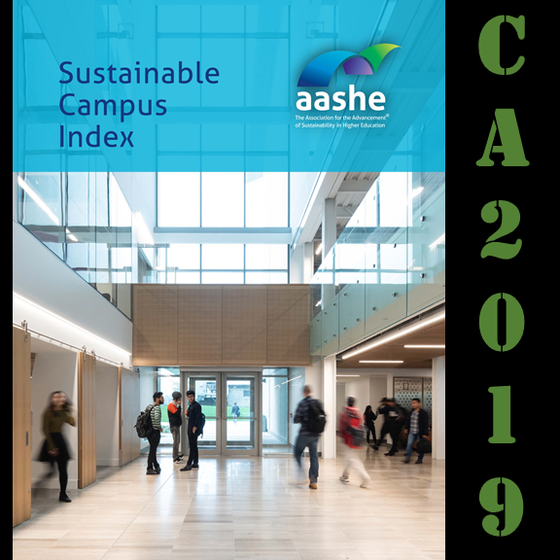 Congrats to Various California Universities for their 2019 AASHE Honor!